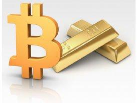 شباهت بیت کوین و طلا