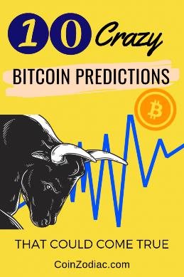 10 پیش بینی بیت کوین